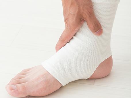 足関節捻挫、足根洞症候群