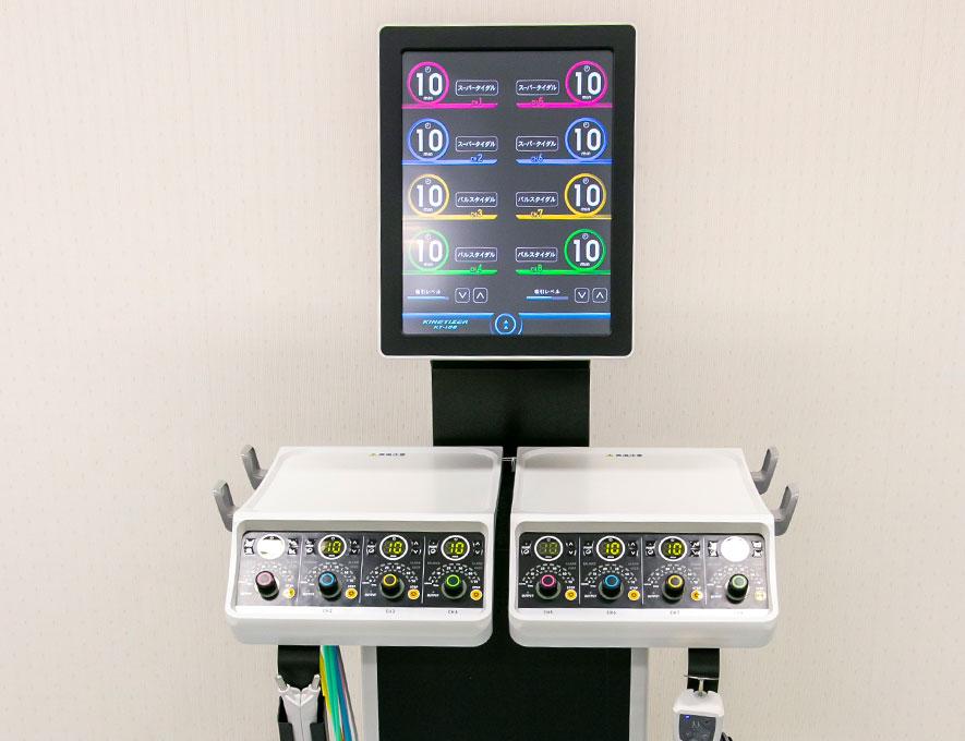 KINETIZER(低周波治療器、干渉低周波治療、微弱電流治療、高電圧治療、NMES)