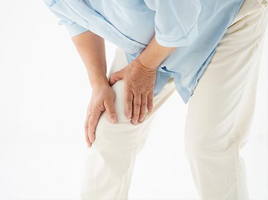 膝が痛くて歩きにくい